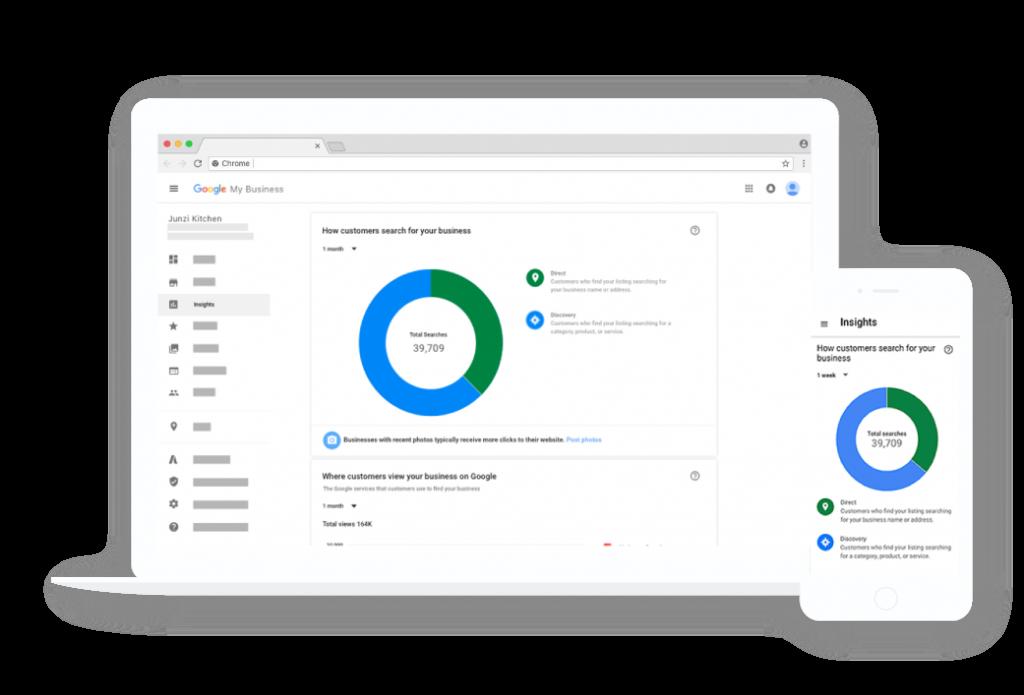 Outil de gestion Google My Business